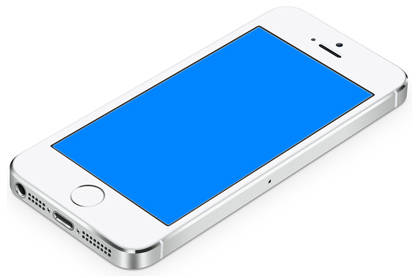 iphone blue screen of death iphone 5s blue screen after screen replacement 2426
